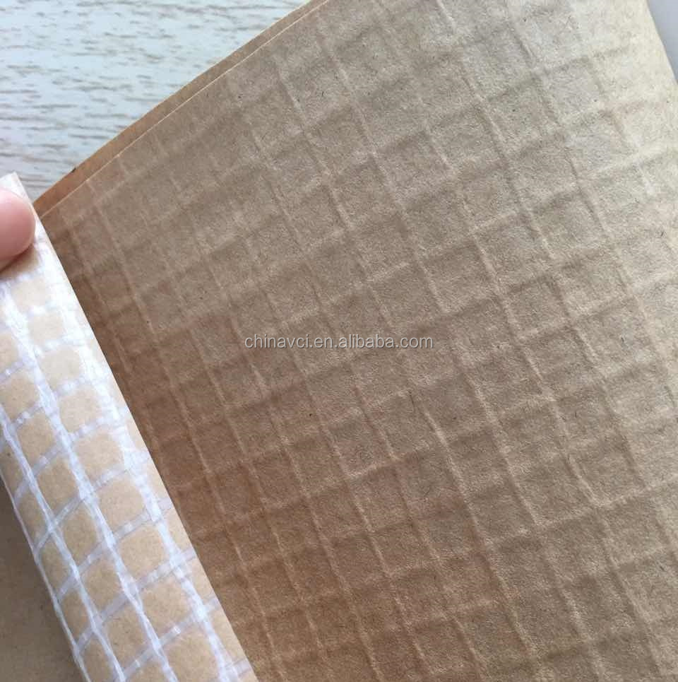 Reinforced VCI paper, VCI anti corrosion antirust kraft paper with woven