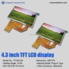 4.3 inch tft lcd modules with 480*272 resolution