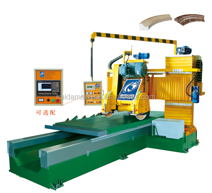 Double saws profiling cutting machine / CNC stone special shape cutting machine DNFX-3000