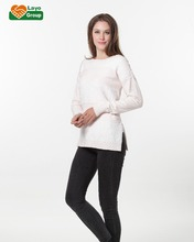 woman's custom knitwear knitted pullover with sequin