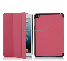 New arrival Flip Stand leather case for accessories i pad mini