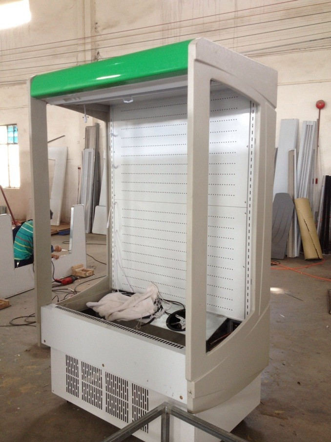 supermarket Air Curtain Multideck Open Chiller /Customized Freezer/Refrigerator Combined