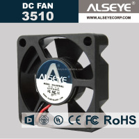 Alseye CB0446 manufacturer 12v 24v dc motor 35x35x10mm Water proof Cooling Fan