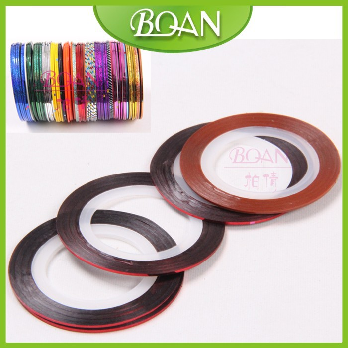 BQAN New Design French Manicure DIY Nail Adhesive Tape