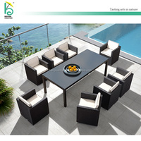Outdoor Wicker Dining Furniture Set