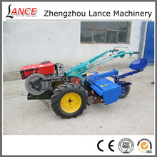 hot sale lat12 cheap garden tractor with rotary plough and tiller