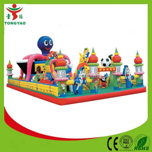 2014 Lastest Used Commercial Inflatable Slide