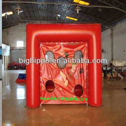 hot sale inflatable football games for kids