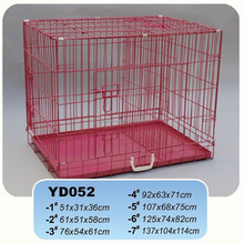 Hot selling Folding metal wire mesh dog cages for USA and Australia