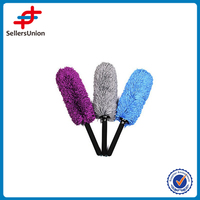 Wholesale White Microfibre Flat brush For Car DUST Cleaning