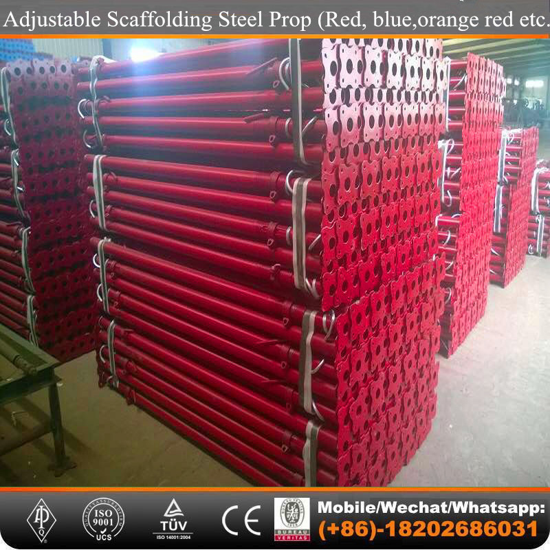 painted and galvanized formwork steel Shoring props in Scaffolding