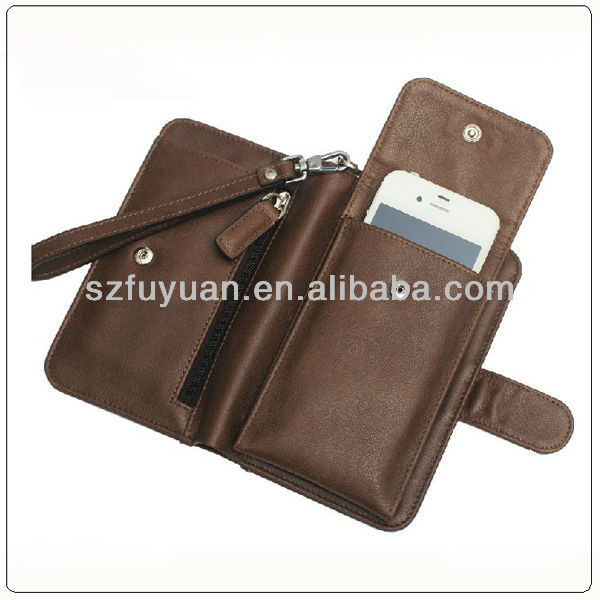 latest designe pu leather wallet phone case