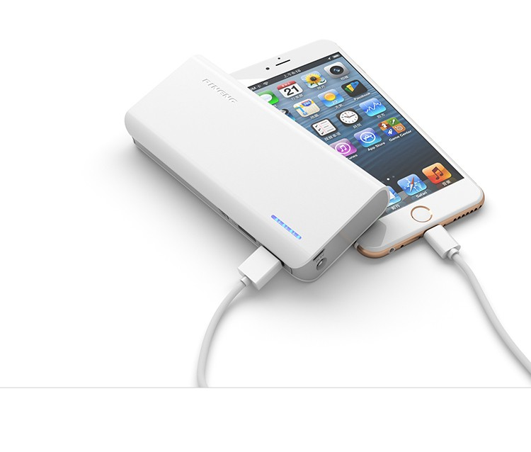 Real capacity Portable 10000mAh diy Mobile external battery power bank