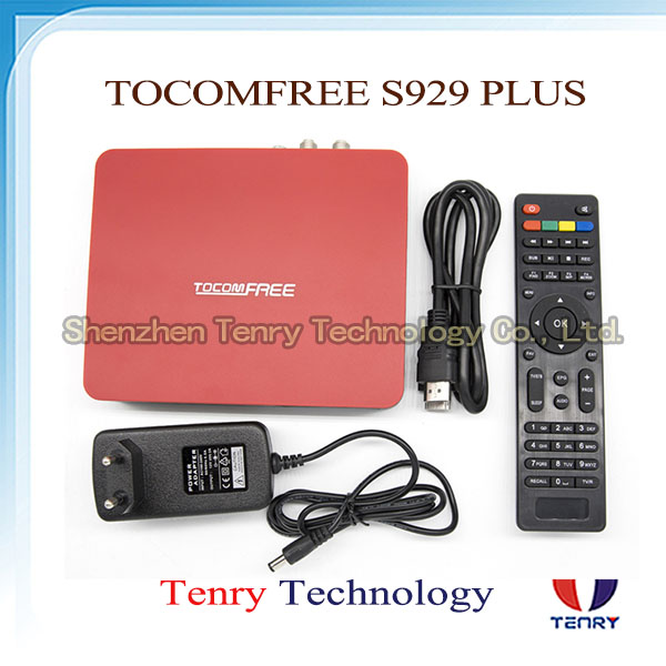 Tocomfree S929 plus IKS SKS Nagra 3 Decodificador IPTV Receptor de TV for south america Tocomfree s929 plus