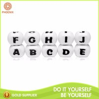 Wholesale Food Grade Letter Decoration Silicone