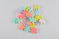 New Arrival Happy Colorful Coral Flower Acrylic Beads For DIY Jewelry