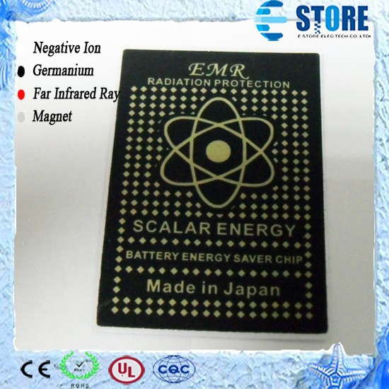 Energy Saving Sticker EMR Phone Chip Scalar Energy Sticker
