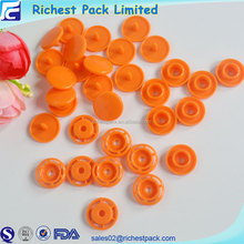Wholesale custom logo snap button fancy plastic buttons for children clothing