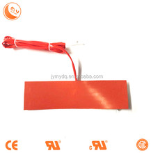 solar heating pad,silicon rubber heater ,Professional custom make all kinds of silicone rubber heater