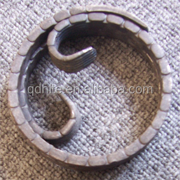 Notch material steel wrought iron scroll ornamental for rosette