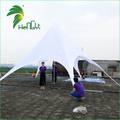 Guangzhou 8m Cheap Outdoor Waterproof Oxford Cloth Fabric Folding Star-shaped Canopy Tent