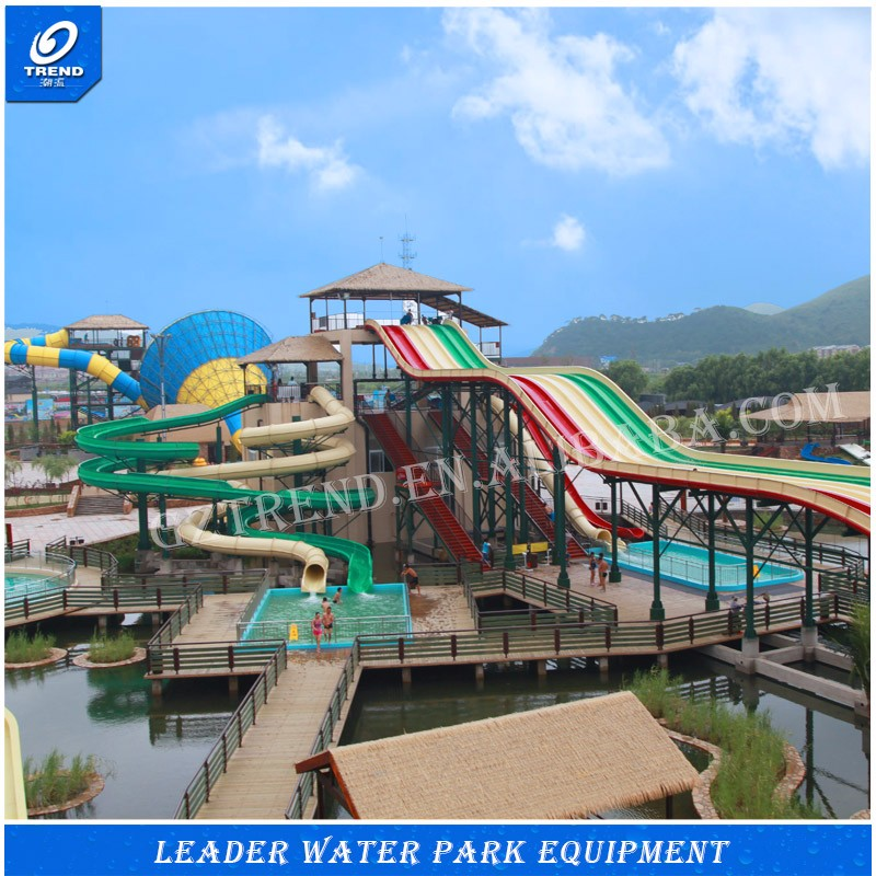 Water Park Amusement Equipment Used Water Slides for Sale