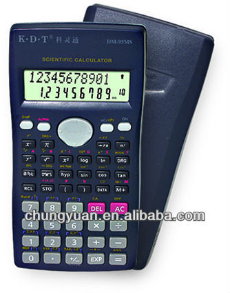 240 kinds of function heart shaped calculator Two lines LCD display DM-95MS