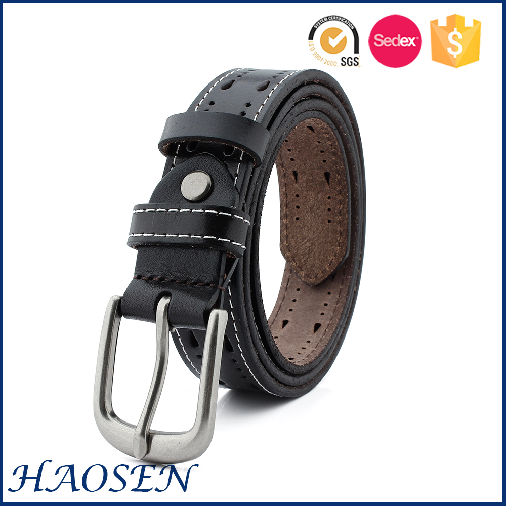 Fashionable British Casual Style Unique Leather Belt