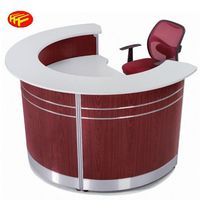 Modern office furniture beautiful front reception counter information desk