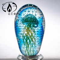 Customized Luminous Blown Glass Jellyfish Wedding