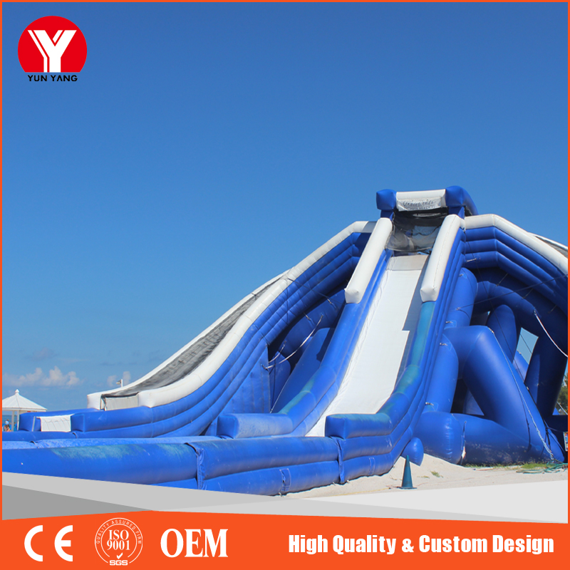 2016 Hot sale giant inflatable water slide for adult, commercial grade adult size inflatable water slide