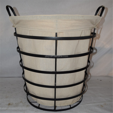 Wire Decorative Stacking Laundry Basket