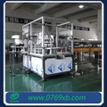 Automatic spout bag filling and capping machine for juice