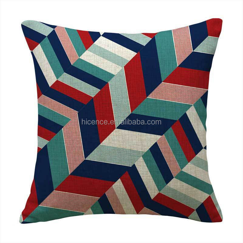 Factory Sell Digital Printing Linen Cushion Cover 45*45CM