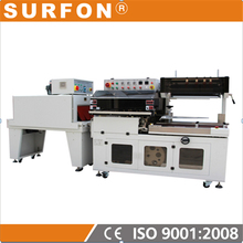 semi automatic shrink wrap machine sleeve wrapper shrink side sealer cellophane packaging machine