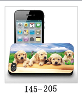 3d bling dog phone case pc cover for xiaomi mi2s