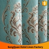 Cashmere jacquard window curtain fabric textile/ China supplier