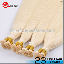 i tip 100% virgin indian remy hair 2g strands Double Drawn European I Tip Hair Extension