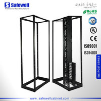 Safewell 4-Post Open Frame Network Server