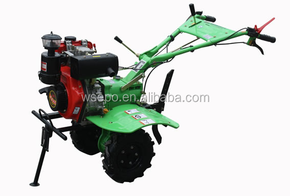 Super Quality&Low Price!! 186F 9HP Diesel Engine Powered 1WG6.3-135 Farm Tiller /Cultivator/Plow