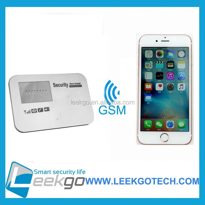 LEEKGO Factory Direct Selling smart home wireless wifi gsm alarm system