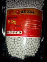 high precision 0.28g airsoft bb, 6mm airsoft bb, plastic bb ammo for airsoft pistols