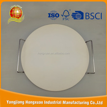 Alibaba export high quality round cordierite pizza stone of pizza tools