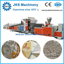 PVC Plastic Imitation Marble Sheet Production Line