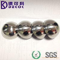19mm to 1000mm customized holllow steel balls stainless steel & brass & copper material 500mm hollow steel half ball