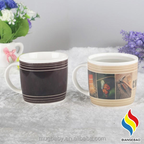 Factory Wholesale Custom Round Bottom Mug With Color Changing