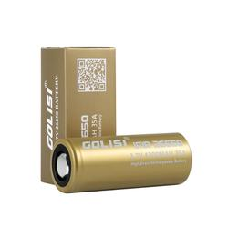 tested by mooch good batteries 26650 li-ion battery golisi S43 35A 4300mah rechargeable battery for vape