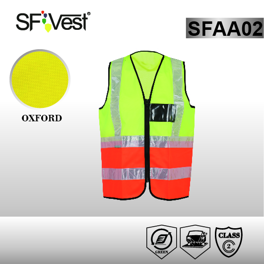 Hi vis EMS Motorcycle Cheap Safety Reflective Vest with ISO 20471