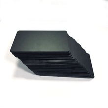 Blank matte black <strong>card</strong> inkjet printable pvc <strong>card</strong>