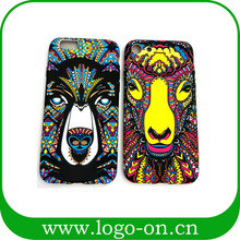New arrival pattern with noctilucent back phone case